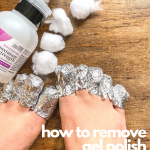 The easiest way to remove gel nail polish AT HOME! | Gel nail removal, Remove  gel polish, Gel toe nails