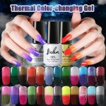 Belen 7ml Soak Off Temperature Change Color Gel Nail Lacquers Long Lasting  Thermo UV Gel Hybrid Luc… | Color change nail polish, Nail polish, Gel nail  polish colors