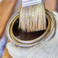 How to Repair Acetone Damaged Wood