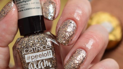 Review: Catrice #peeloff Glam Effect Nail Polish - 03 When In Doubt, Just  Add Glitter - Adjusting Beauty
