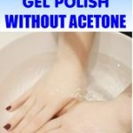 Remove Gel Polish Without Acetone | Naturally | Gel nail polish remover, Remove  gel polish, Gel nails diy