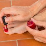 Nail Polish Stain Removal From Stone Tile