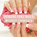 How to remove fake nails without acetone or chemicals. If you need to give  your acrylics a break…   Take off acrylic nails, Remove acrylic nails, Fake acrylic  nails