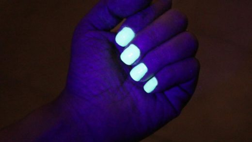 How to Activate Glow in the Dark Nail Polish | Dark nail polish, Dark nails,  Nail polish