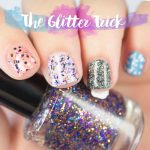 The Nailasaurus   UK Nail Art Blog - Apply Glitter Nail Polish Evenly Every  Time with The Glitter Trick - The Nailasaurus   UK Nail Art Blog