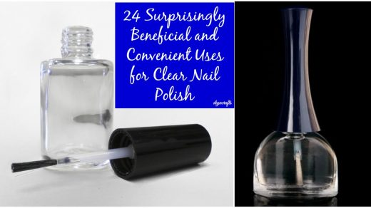24 Surprisingly Beneficial and Convenient Uses for Clear Nail Polish - DIY  & Crafts