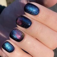 These Magnetic Galaxy Nails Are Going Viral   Allure