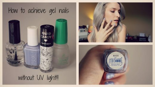 How to dry gel nails without a uv light - New Expression Nails