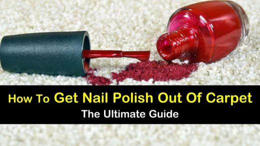 7 Foolproof Ways to Get Nail Polish Out of Carpet