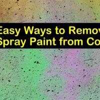 4+ Easy Ways to Remove Spray Paint from Concrete
