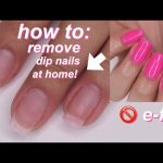HOW TO REMOVE DIP NAILS FAST (5 mins – no filing needed!) - YouTube