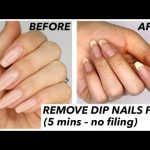 How To Remove Gel & Dip Powder Nails At Home