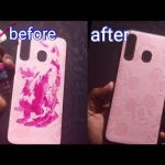 How to remove nail polish from a phone cover - YouTube