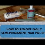 How to remove your semi-permanent varnish at home