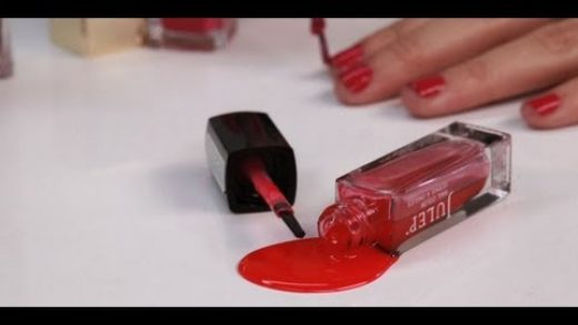 Removing Nail Polish From a Comforter   ThriftyFun