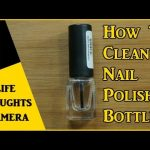 Use elmers glue in a clean nail polish bottle to make a clean up base coat  & paint a barrier around the cuticles fo… | Nail polish, Nail polish bottles,  Clean nails