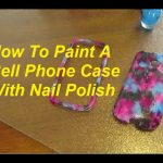 Use Nail polish To Decorate Your Phone Case! - Musely