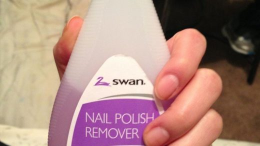 How to get rid of the nail polish remover taste/smell - B+C Guides