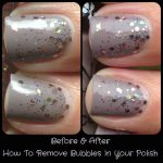 How To Save Bubbled Up Nails | Polish Me, Please!