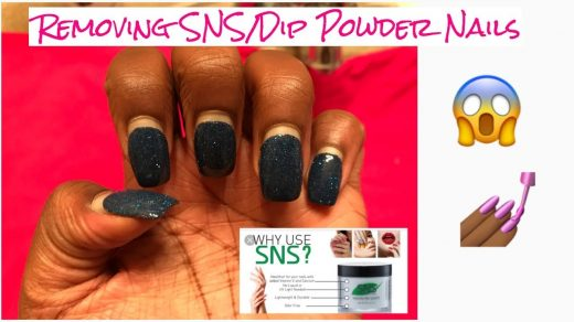 How NOT to remove SNS nails – gypsy girl in gi
