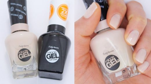 Sally Hanson Miracle Gel, Wears as well as Shellec, no UV, easy to remove.  {obsessed} | Sally hansen gel nails, Nails, Hot nails
