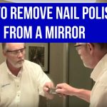 How to remove spray paint from a mirror: I recently re-painted the frame of  an old mirror and failed to cover th…   Decorating tips, Cleaning hacks,  Household hacks