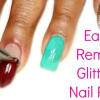 How to Remove Glitter Nail Polish: 14 Steps (with Pictures)