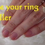 How to make a ring smaller using nail polish and medical tape from the  drugstore   Make a ring smaller, How to make rings, Fingernail polish