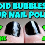 how to get rid of air bubbles in your nail polish - YouTube