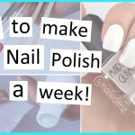 HOW TO: Make Your Nail Polish Manicure Last Longer! Fancy Nail Art