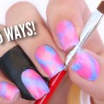 Tutorial for cleaning up your cuticles after applying nailpolish--angled  eyeliner brushes, who knew?! | Nail polish, Manicure, Diy manicure