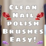 Clean Nail Polish Bottles without acetone or nail polish remover! - YouTube