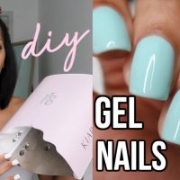 Matte nails in one easy step! Works with one coat! | Nail polish, Gel polish,  Nails