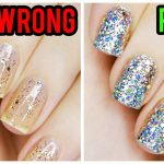 💥✨How to Properly Apply Chunky Glitter Nail Polish💥✨ - Musely