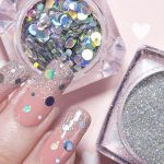 Perfectly Polished 12: Nail Trick: Using a Sponge to Apply Glitter