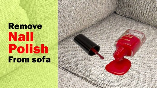 How To Remove Nail Polish From Clothes, Couch, Shoes, Jeans, Fabric,  Leather, Bed Sheets, Boots, & Suede … | Old nail polish, Nail polish stain,  How to clean carpet