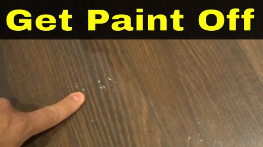 To remove fingernail polish remover stain on wood flooring Rub peanut butter