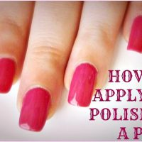 How to Paint Your Nails Without Getting Polish on Fingers — Vaseline  Manicure Tip