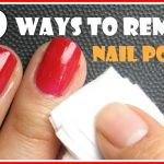 REMOVE NAIL POLISH WITHOUT A REMOVER - The Natural DIY