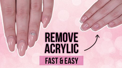 How to Easily DIY Take Off Acrylic Nails With Vinegar - Easy Nail Tech
