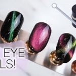 Cat Eye Nail Art Trend Is Inspired by Winged Liner — Photos   Allure