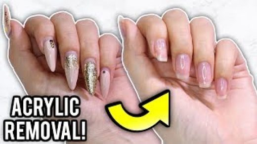 How to Remove Acrylic Nails at Home Without Damaging Your Nails 2021