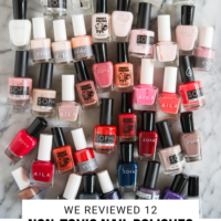 Non Toxic Best Nail Polish Brands + 4 to Avoid | Fed & Fit