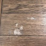 How to repair wood table with nail polish remover stain   Hometalk