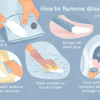 How to Remove 8 Glue and Adhesives Stains From Clothes