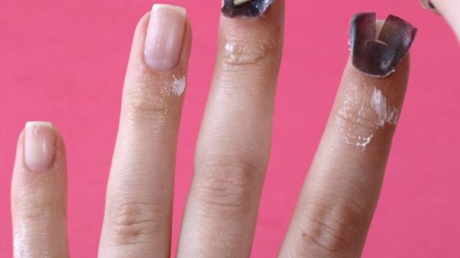 Removing gel nails - New Expression Nails
