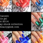 SALLY HANSEN MIRACLE GEL REVIEW + COLOR COLLECTION SWATCHES - Beautygeeks