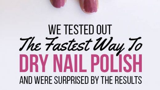 Here's What Happened When We Tested 5 Pinterest Nail-Drying Hacks