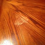 Nail polish remover spill on table | Woodworking Talk